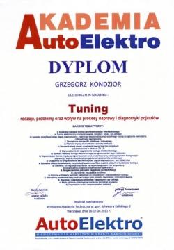 Akademia AutoElektro - Tuning - rodzaje, problemy oraz wpływ na procesy naprawy oraz diagnostyki komputerowej