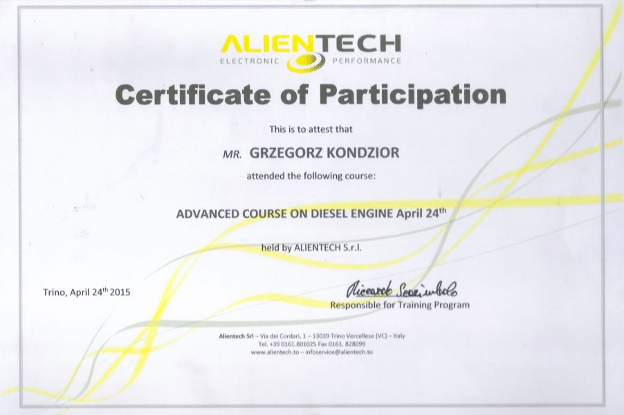 IBTronic - szkolenie Advanced course on diesel engine