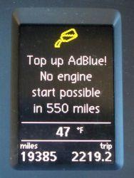 AdBlue problem