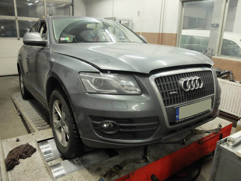Audi Q5 2.0 TDi 125 kW  170 KM z systemem AdBlue