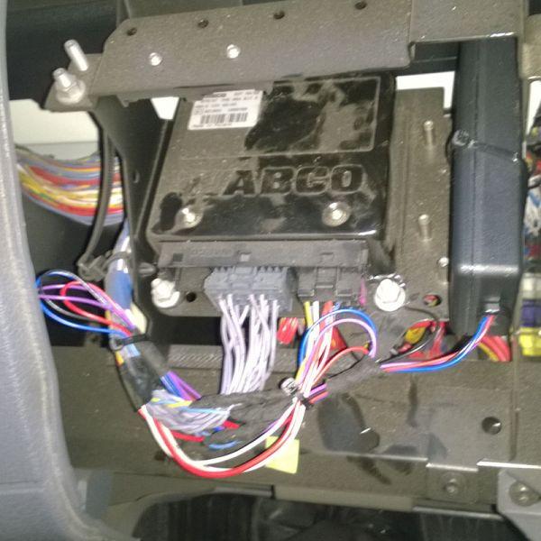 Relacja z montażu emulatora w samochodzie ciężarowym DAF LF55.310