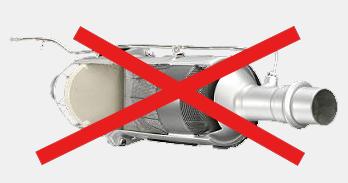 Dezaktywacja filtra cząstek stałych DPF FAP