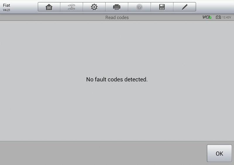 brak błędów w diagnostyce komputerowej