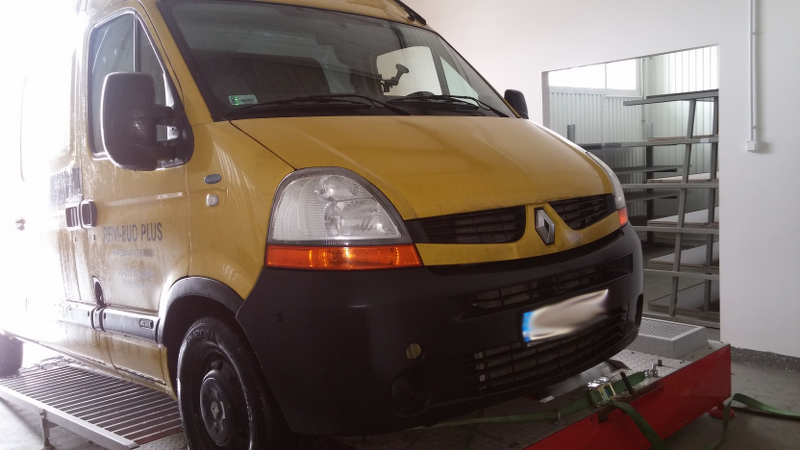 Renault Master II 2.5 dCi 88 kW / 120 KM